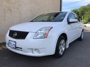 2009 Nissan Sentra 2.0 4dr Sedan w/Prod. End 01/09 (2.0L 4cyl CVT)