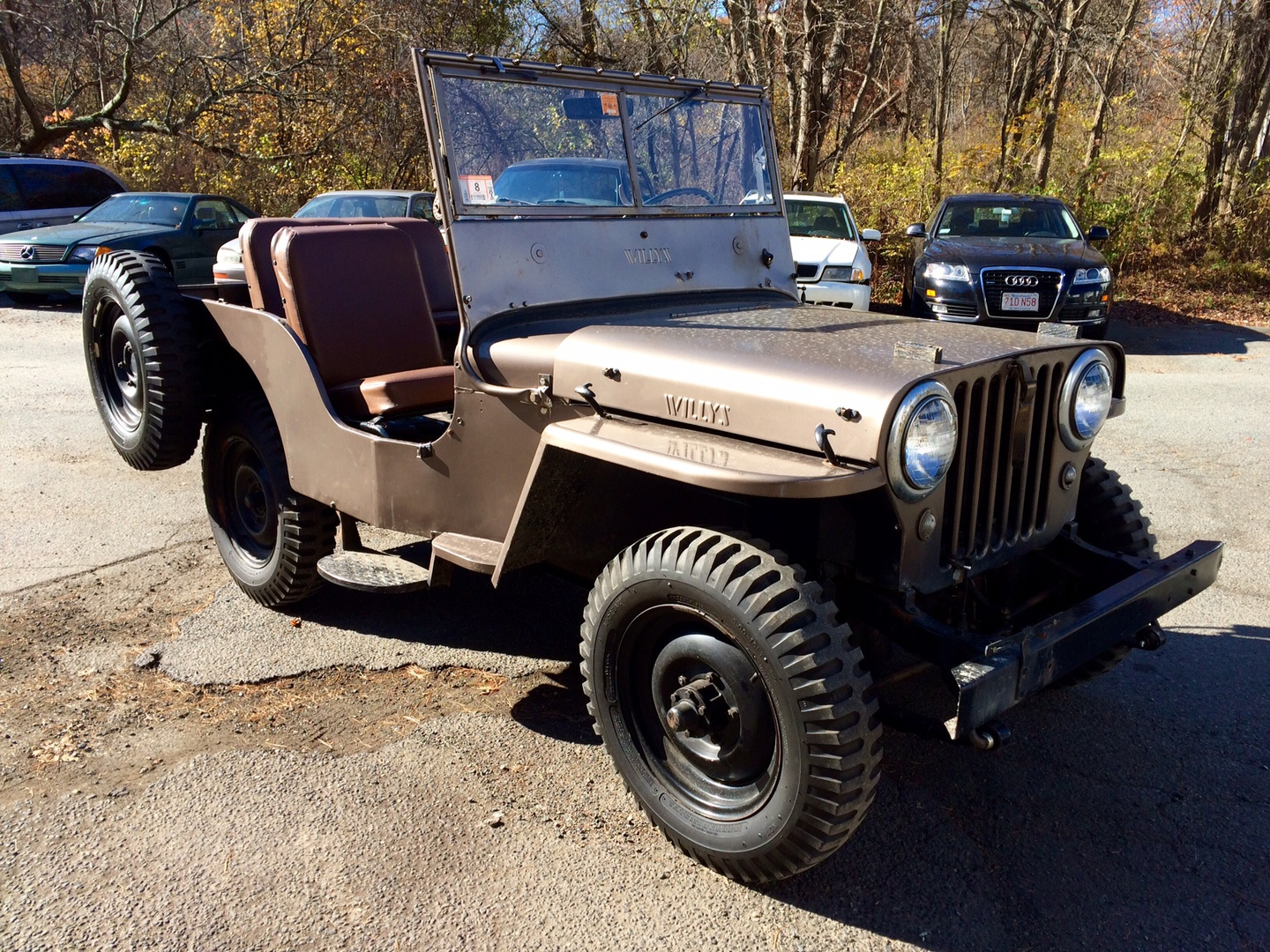 Buy 1948 Jeep Util Willys Weston Ma Weston