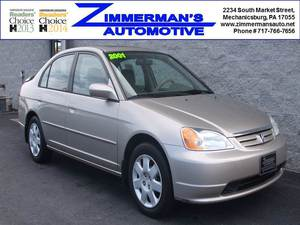 2001 Honda Civic EX 4dr Sedan (1.7L 4cyl 5M)