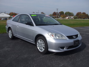 2004 Honda Civic LX 2dr Coupe (1.7L 4cyl 4A)