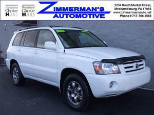 2005 Toyota Highlander Limited AWD 4dr SUV w/3rd Row (3.3L 6cyl 5A)