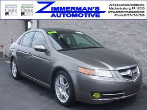 2008 Acura TL 4dr Sedan w/Navigation (3.2L 6cyl 5A)