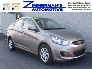 2013 Hyundai Accent GLS 4dr Sedan (1.6L 4cyl 6A)
