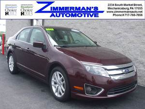 2012 Ford Fusion SEL 4dr Sedan (2.5L 4cyl 6A)