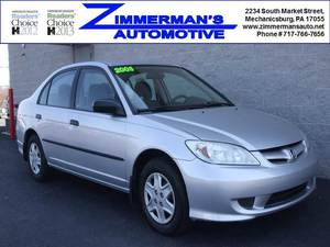 2005 Honda Civic DX 4dr Sedan (1.7L 4cyl 5M)