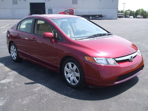 2008 Honda Civic LX 4dr Sedan (1.8L 4cyl 5A)
