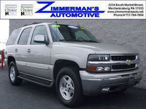2004 Chevrolet Tahoe LS 4WD 4dr SUV (5.3L 8cyl 4A)