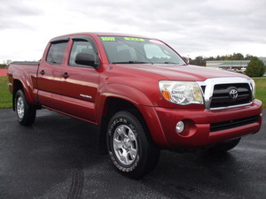 2007 Toyota Tacoma V6 4dr Double Cab 4WD 5.0 ft. SB (4.0L 6cyl 5A)